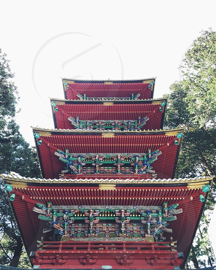 Japan pagoda  photo