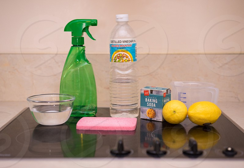 homemade cleaning product photo