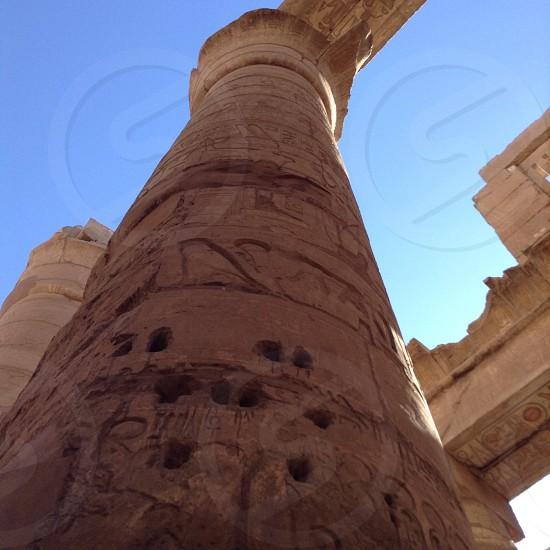 Luxor temple al karrnak photo