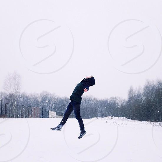Winter activities  photo