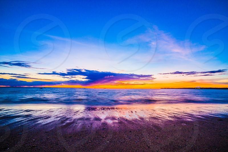Vesty's Beach Sunset Darwin Northern Territory Australia. photo