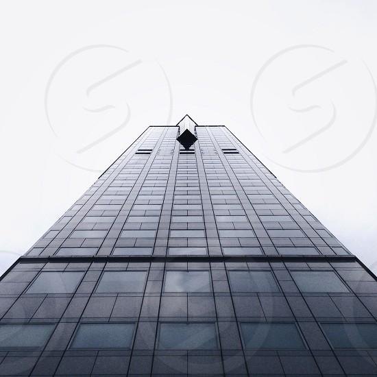 black glass high rise building photo
