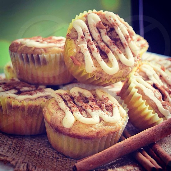 Cinnamon cupcakes  photo