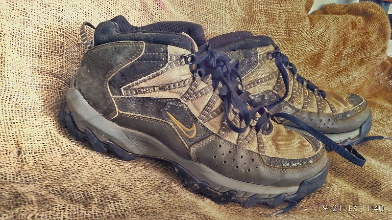 My hiking shoes photo