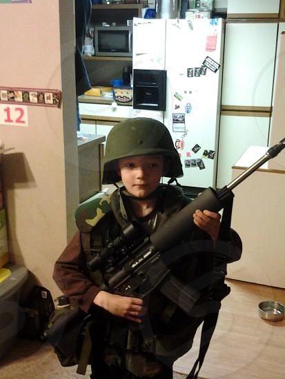Mini soldier photo