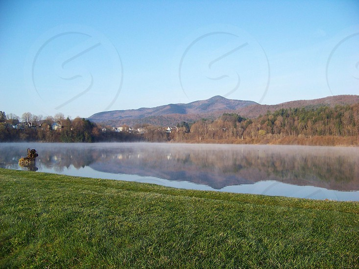 View of Mt. Ascutney from Paradise Park in Windsor VT photo