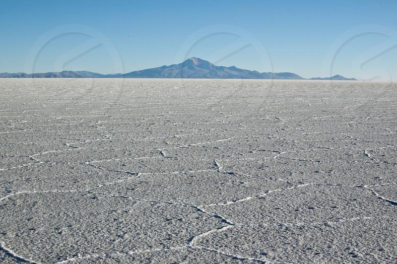 salt flats plains bolivia travel  photo