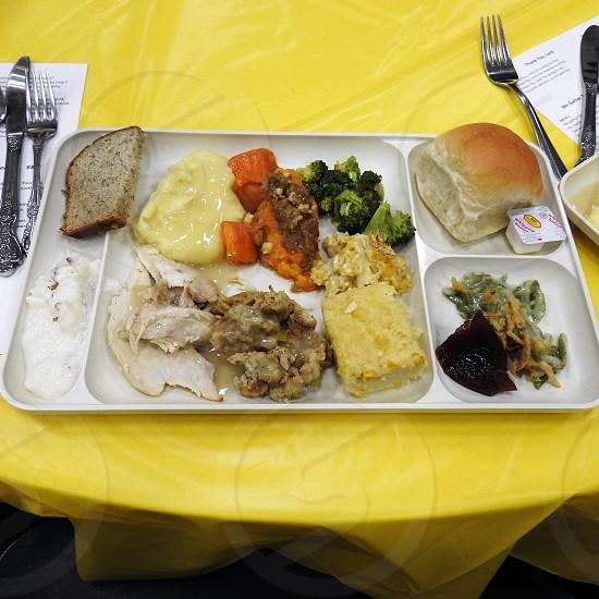 Platter of good food           photo