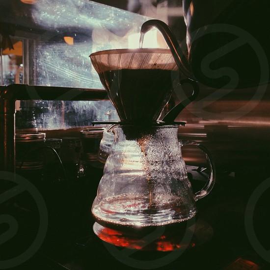 coffee pot  photo