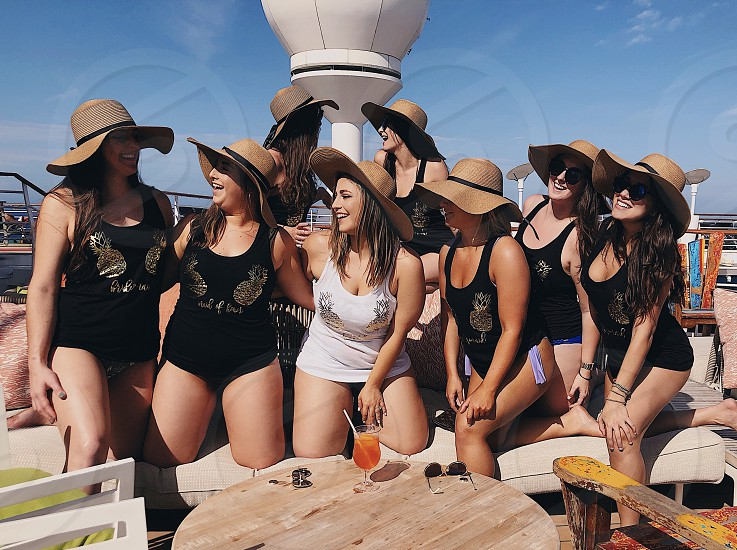 Cruise bachelorette party photo