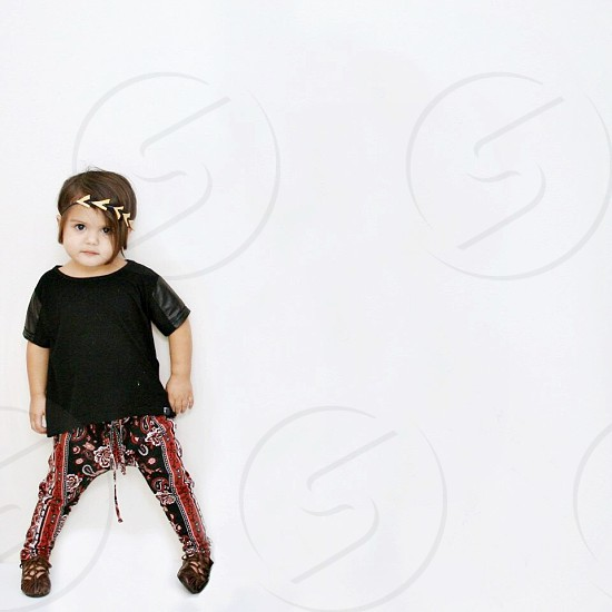 Hippie toddler kids fashion  photo