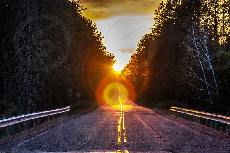 Heaven's road photo