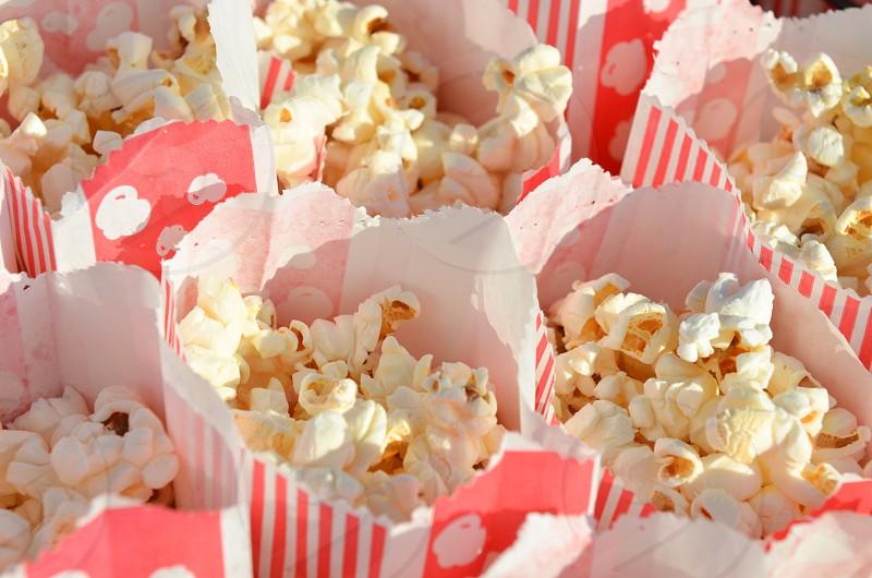 Popcorn movie movies concessions  photo
