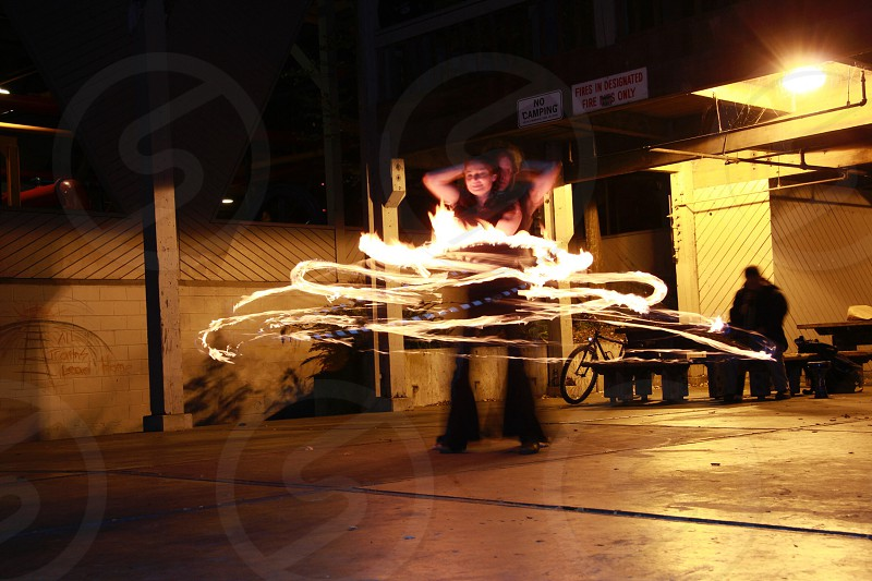 Fire Spinner photo