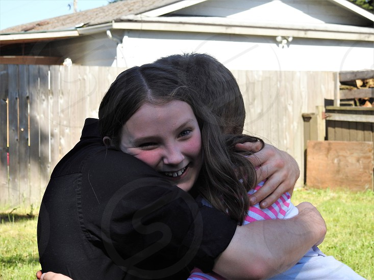 Big Brother Hugs Are The Best          photo