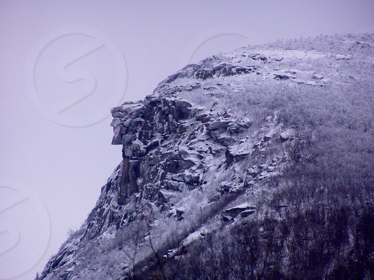 old man of the mountain photo