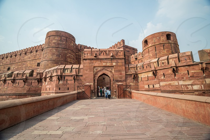Red Fort - Agra - India photo