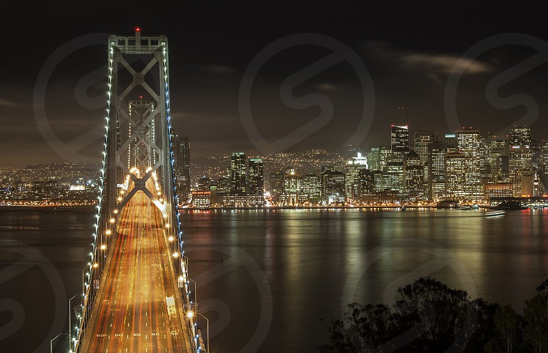 Different composition of the Bay Bridge photo