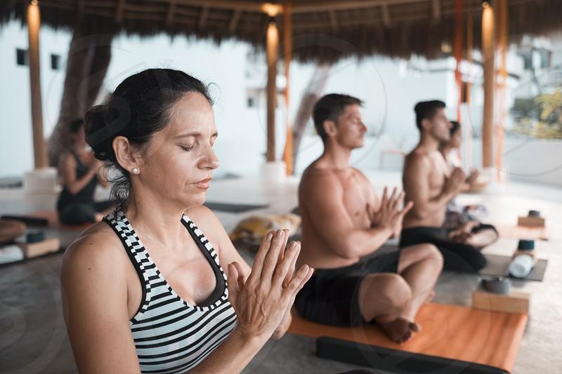 Yoga group retreat Puerto Vallarta - Mismaloya Mexico photo