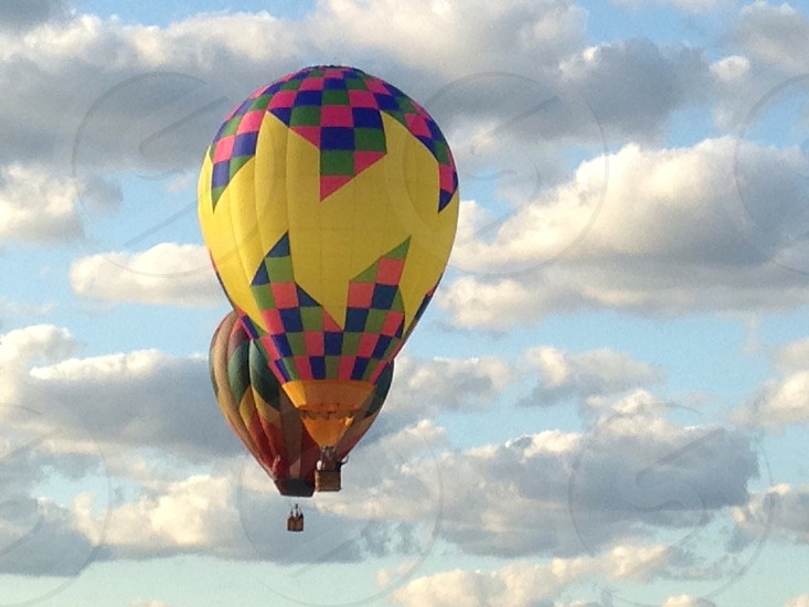 Up in the air like a beautiful balloon photo