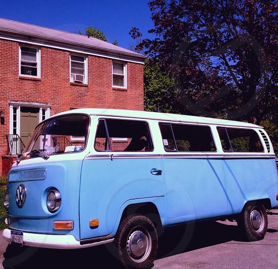 Vintage VW mini van New Paltz NY photo