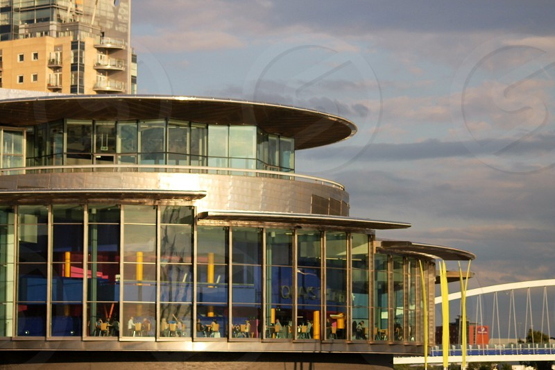 The Lowry Theatre view from Media City Salford photo
