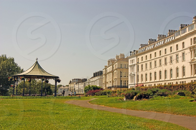 UK. England. North Yorkshire. Filey. The Crescent Gardens.  photo