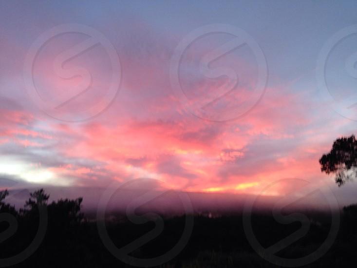 Mauna Loa Sunset photo