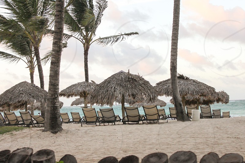 A late afternoon in the Dominican Republic photo
