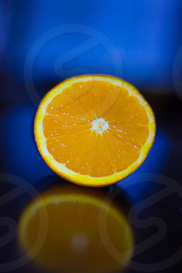 yellow sliced lemon photo