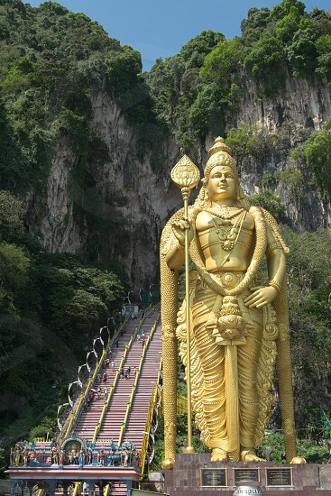 Batu Caves Malaysia South East Asia travel religious site. photo