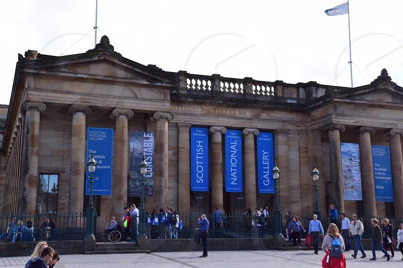 Scottish National Gallery Edinburgh photo