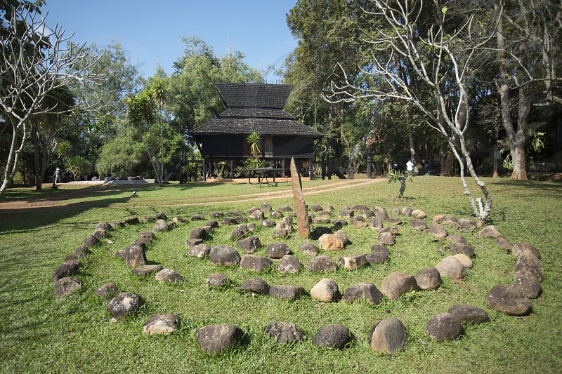 the Baandam Museum in the village of Muang in the north of the city Chiang Rai in North Thailand. photo