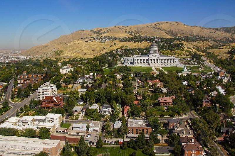 Salt Lake City state capitol capital building city photo