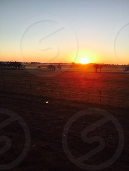 Sun rise in Texas  photo