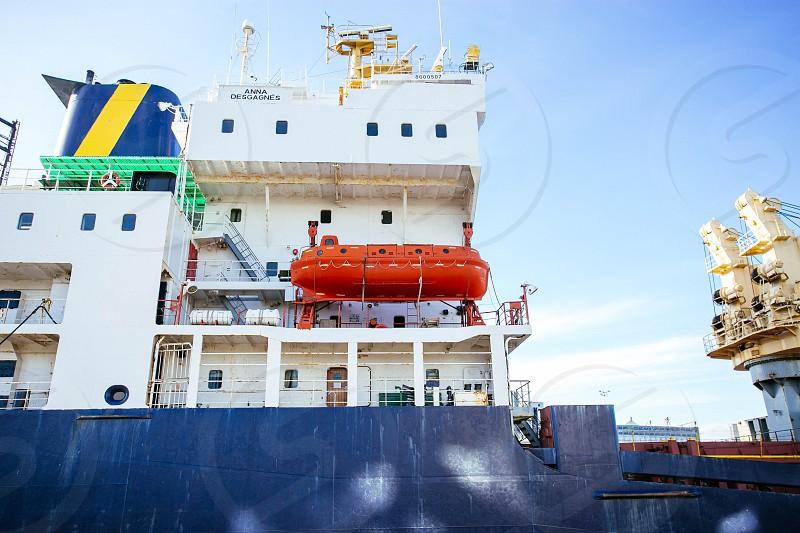 Lifeboat boat ships sea exploring photo