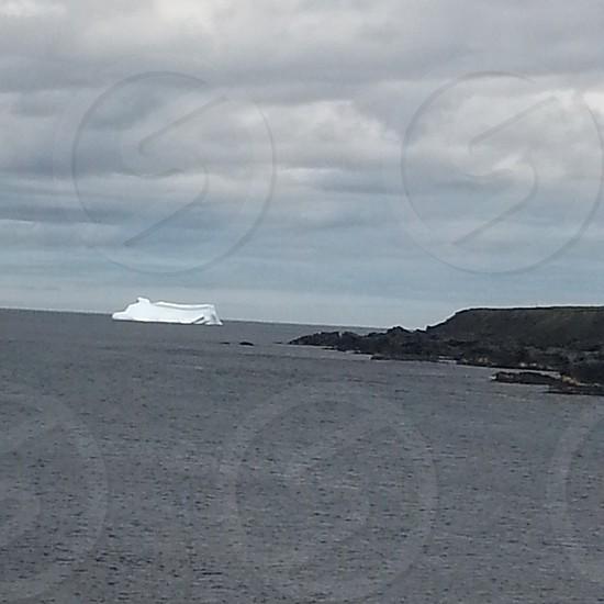 iceberg and shoreline photo