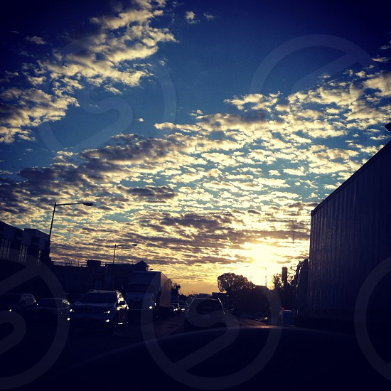 Morning sky and clouds  photo
