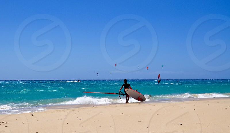 Windsurfing  photo