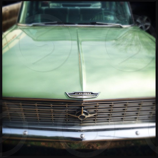 Antique ford car photo