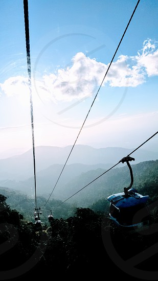 Genting Highland Malaysia Cable car Hills evening photo