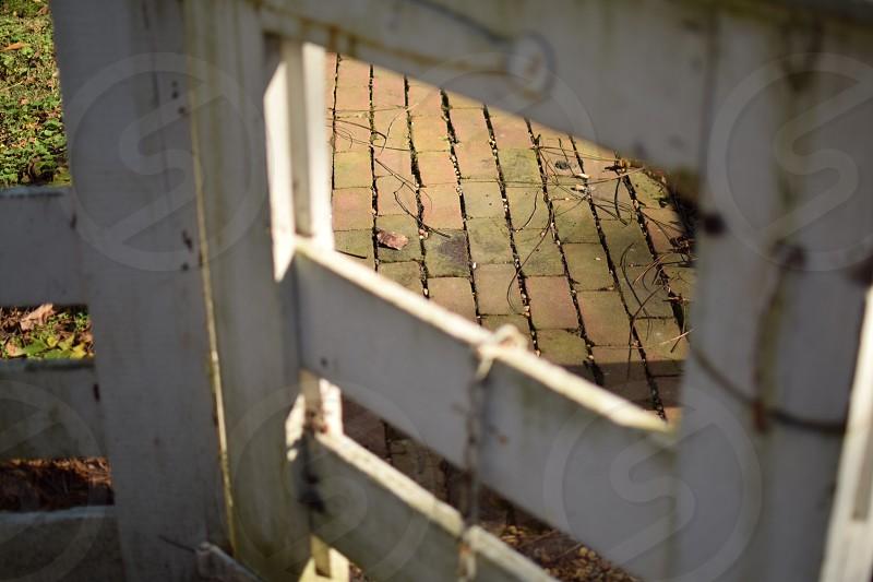 Opened gate photo