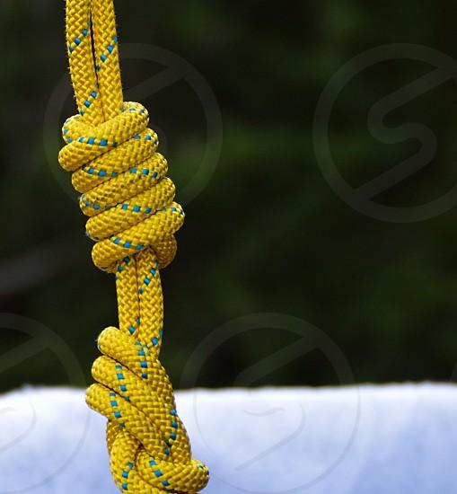 Rope  knots photo