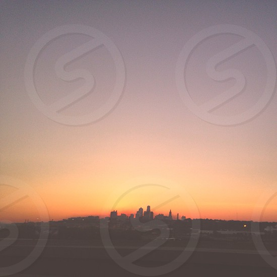 Kansas City silhouette  photo