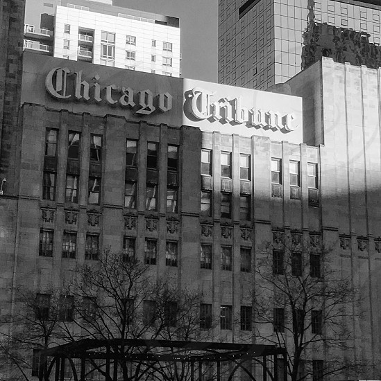 Chicago Tribune building  photo