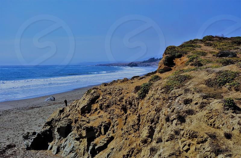 The Southern California Pacific Ocean coast near San Luis Obispo photo