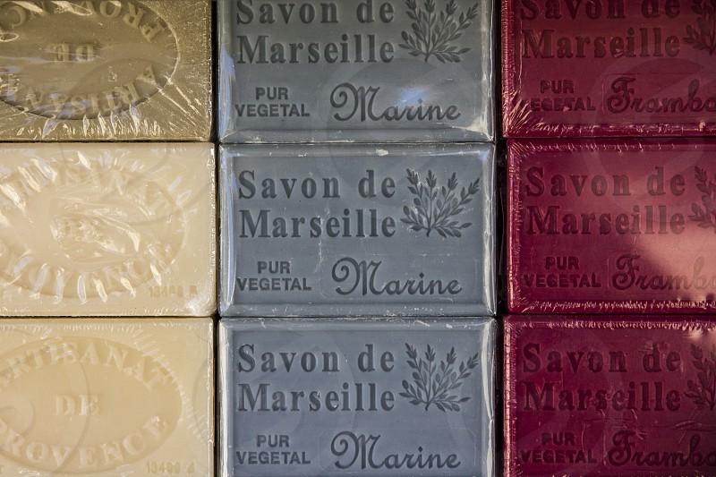 Bars of Soap. photo