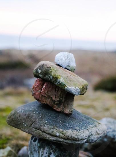 Stone stones sea ocean material element elements nature landscape earth  photo