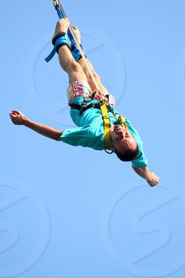 Bungee jump photo