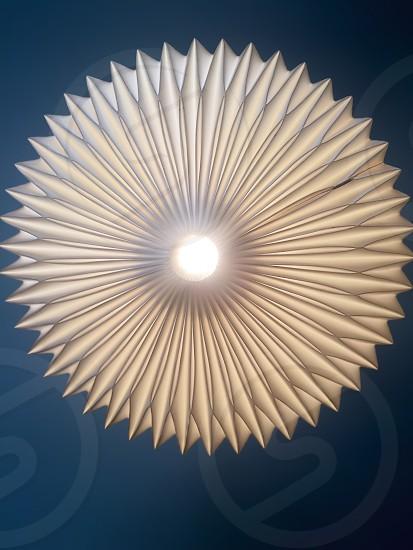 white pendant lamp photo